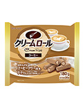 180g クリームロール コーヒー